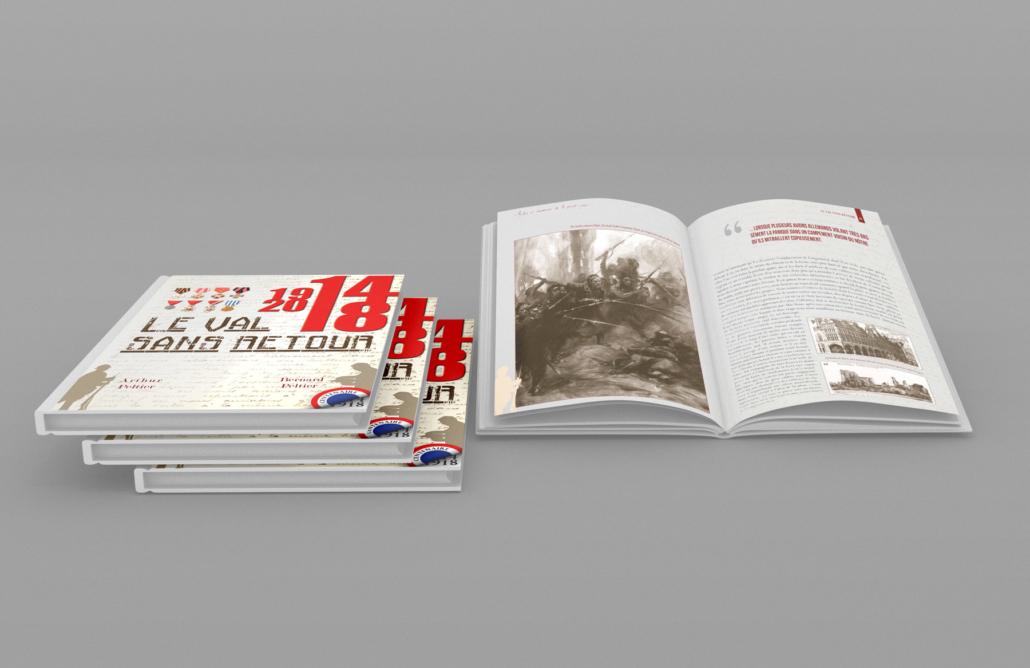 mise-en-page-livre-revue-guerre-militaire